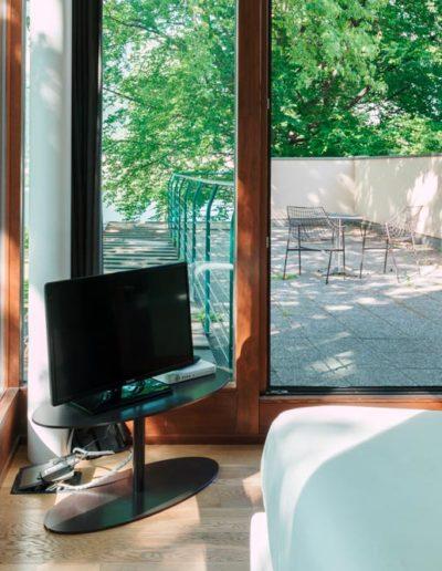 Camera con terrazzo privato